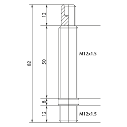 """Wheel stacking ring in plastic, size 14"""""""